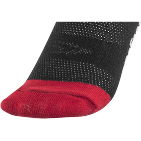 "DeFeet Aireator 6"" Socks do epic shit (schwarz/rot)"